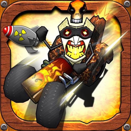 得意小赛车:Tiki Kart 3D【赛车游戏】