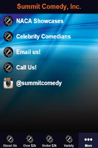 Summit Comedy, Inc. screenshot 1