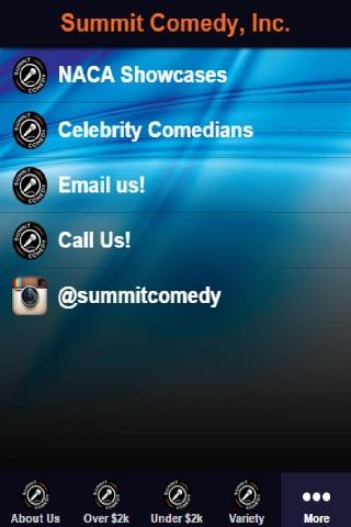 Summit Comedy, Inc. screenshot 1