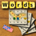 Words English - The rotating letter word search puzzle board game