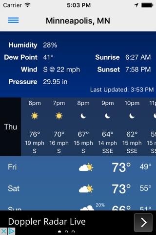 KSTP Weather Mpls-St. Paul screenshot 2