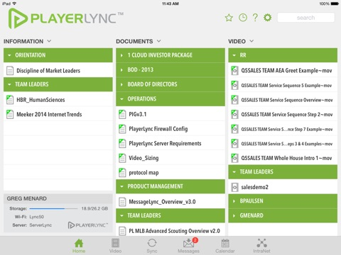 PlayerLync screenshot 1