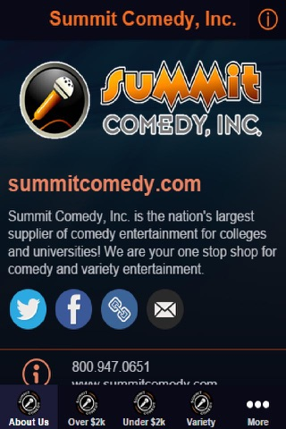 Summit Comedy, Inc. screenshot 2