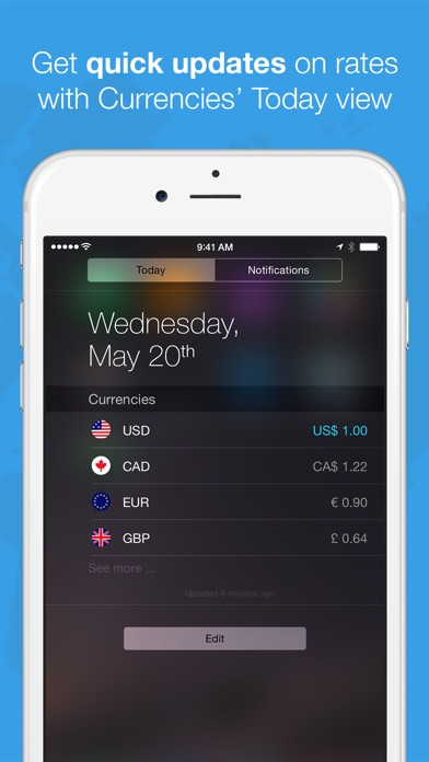 Screenshot #5 for Currencies by Edovia