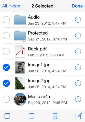 USB Disk Pro - The File Manager for iPhone screenshot 3