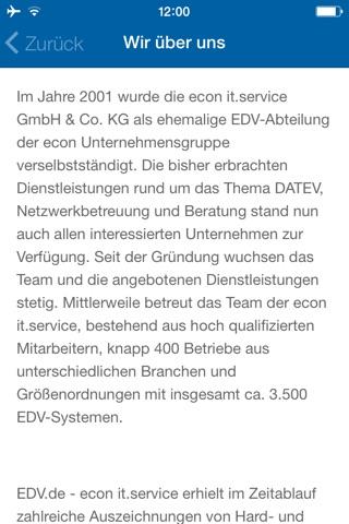EDV.de screenshot 4
