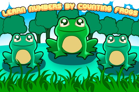 Learn numbers by counting frogs screenshot 1