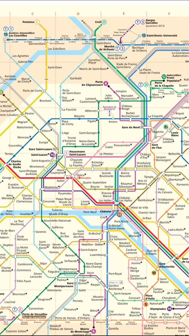 Screenshot of Paris travel guide and offline map - metro paris subway, CDG ORLY roissy paris airport transport, city Paris guide, SNCF TGV traffic maps lonely planet Paris trip advisor, Tour in Europa, i treni di Parigi, attrazioni turistiche Parigi guida turistica4