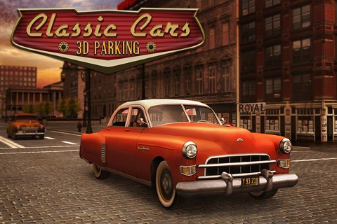 Classic Cars 3D Parking screenshot 1