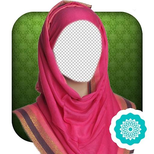 Hijab Basic Color Photo Montage Pro iOS App