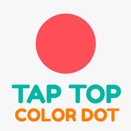 Tap Top Color Dot iOS App