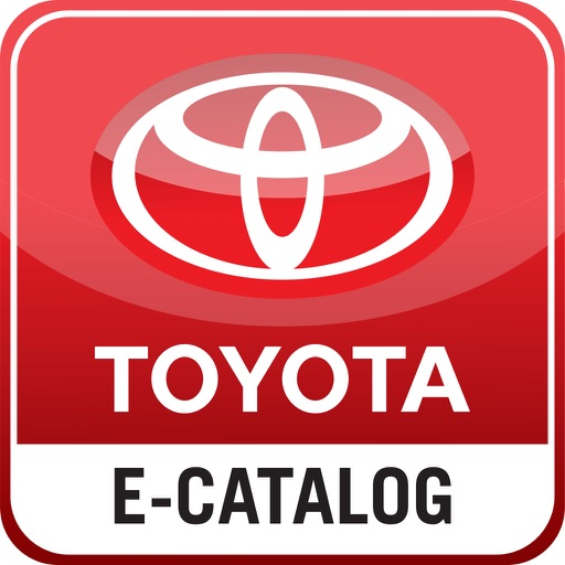TOYOTA E-CATALOG iOS App