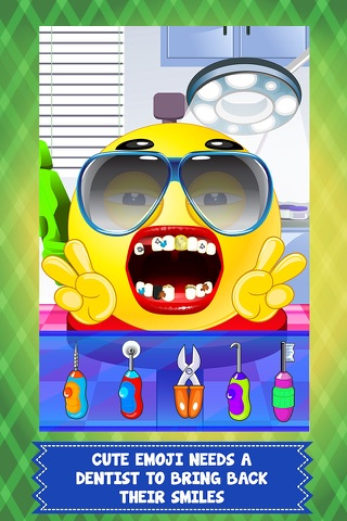 Pet Emoji Little Dentist & Baby Spa Salon - my little emoticon doctor & kid mommy games! screenshot 1