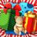 游戏圣诞节的孩子: 学习 与圣诞老人