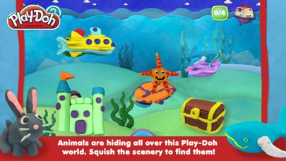 Screenshot of PLAY-DOH: Il gioco del nascondino2