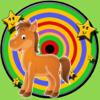 子供のための馬とダーツ - 広告なし