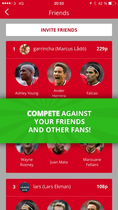 download Twelve - The social football game with live scores and extreme player stats. apps 2