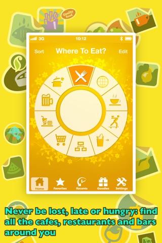 Where To Eat? PRO - Find restaurants using GPS. screenshot 1