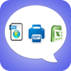 Export Messages - Save Print Backup Recover Text SMS iMessages Icon