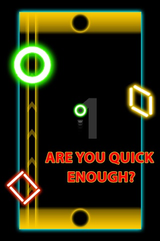 Glow Air Hockey Twist screenshot 1