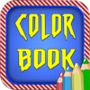 Color Book Game for Kids: Amazing SpiderMan Version