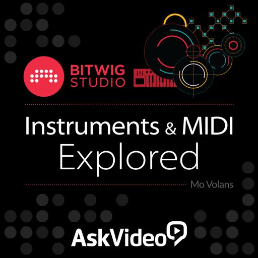 Course For Bitwig Studio 103 - Instruments and MIDI Explored