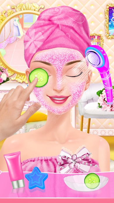 My Wedding Day - Sweet Bride SPA Center: Dress, Hair and Makeup Salon Game screenshot one