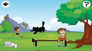 Animaux Enfants Jeux: Bébé Chats, Kitty App Pour de Jeunes Enfants: Coloration Livres & PuzzleCapture d'écran de 3