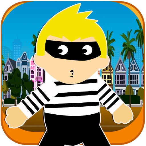 Evil Robber Dash FREE - Cop Catch Speed Chase iOS App