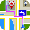 Draw on Map : Make iCONic Way - Create Your Own Map And add Waypoint or Tracks with Universal GPS APP