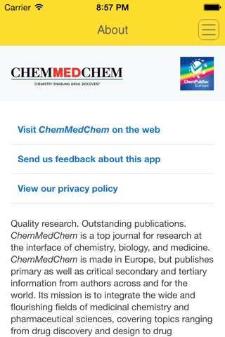 ChemMedChem screenshot 2