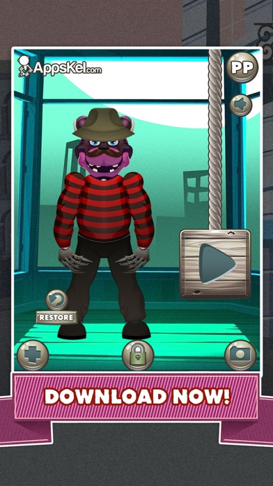 iphone screenshot 5 - Free Halloween Dress Up Games