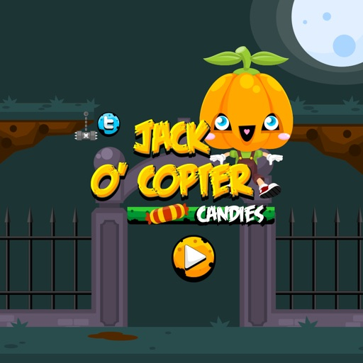 Jack O' Copter Candies iOS App