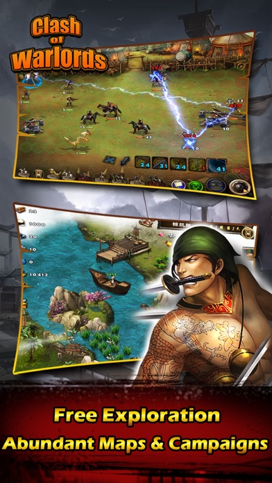 Screenshot #1 pour Clash Warlords