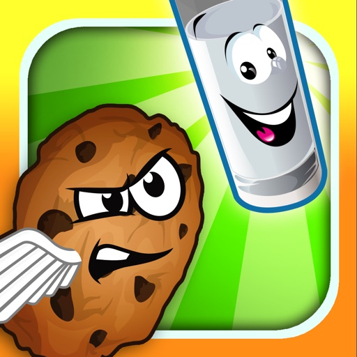 Super Cookie and Milk - Classic Home of Sweet Doodle Mama Dash Crunch Free 2 iOS App