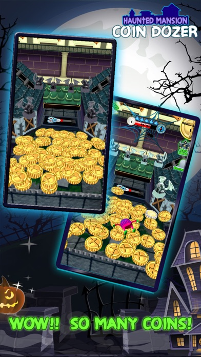 download Coin Dozer Haunted Mansion : Halloween Creature Edition apps 3