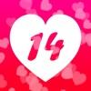 Valentinstag - 14 Tagen Liebes
