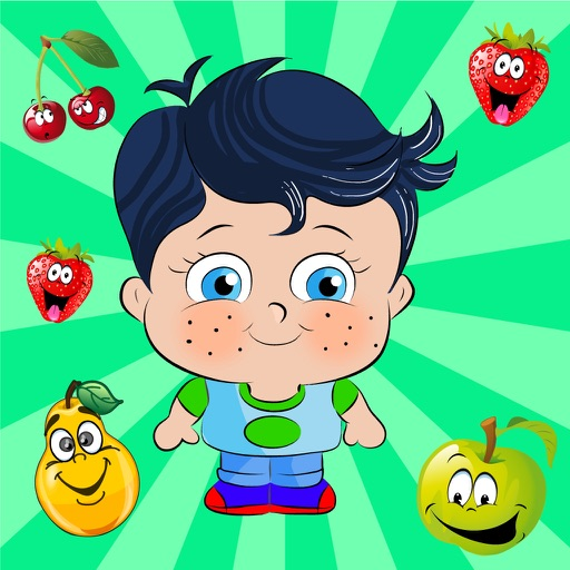 Learn French with Little Genius - Matching Game - Fruits iOS App