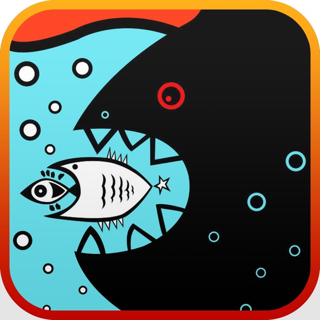 Big fish eat small fish game on the app store for Fishing game app