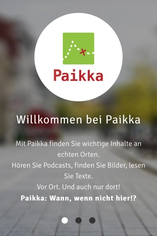 Paikka screenshot 1