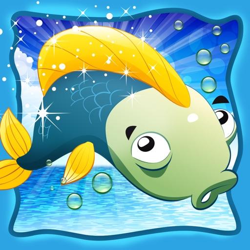 Actif! Jeu Pour Les Tout-petits Sur la Pêche: Apprendre Avec Vue Sur Mer, Eau, Poissons, Pêcheur et Canne À Pêche