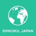 Shikoku, Japao Offline Map : Para viagem icon