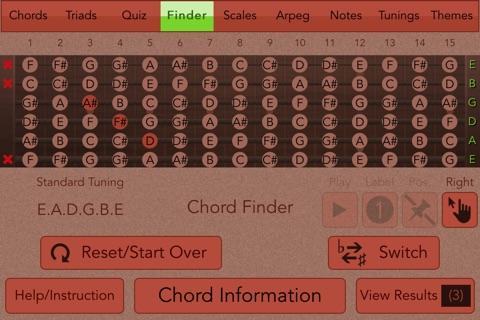 Guitarist's Reference screenshot 4