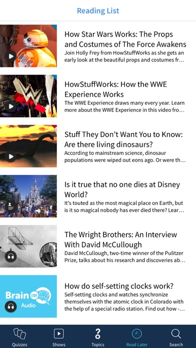 Screenshot 4 for HowStuffWorks's iPhone app'