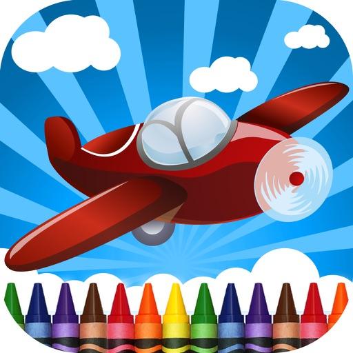 Planes Coloring-Book iOS App
