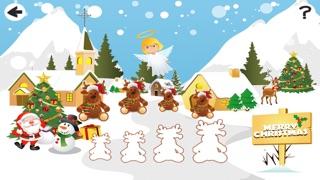 婴儿及儿童学习排序的圣诞动物按大小:教育游戏屏幕截图4