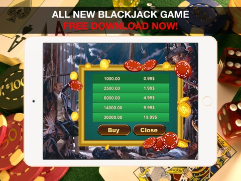 Aarghh! PIRATE BAY BlackJack - Play the Online Monte Carlo Casino Card Game with Real Las Vegas Odds for Free !-ipad-4