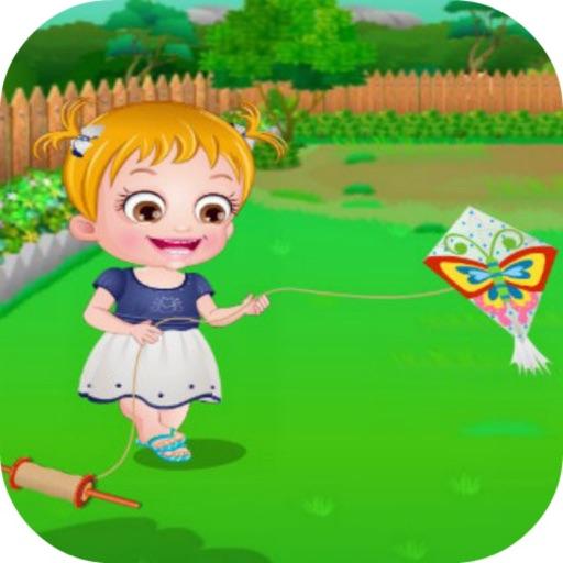 Baby Kite Flying iOS App