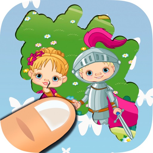 Scratch fairy tales, princesses, castles and dragons – free game for boys and girls iOS App