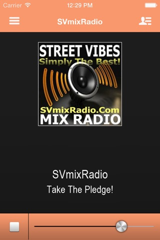SVmixRadio screenshot 1